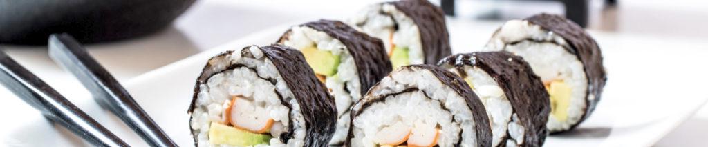 Maki Rolls at Tsunami Sushi in Sarasota