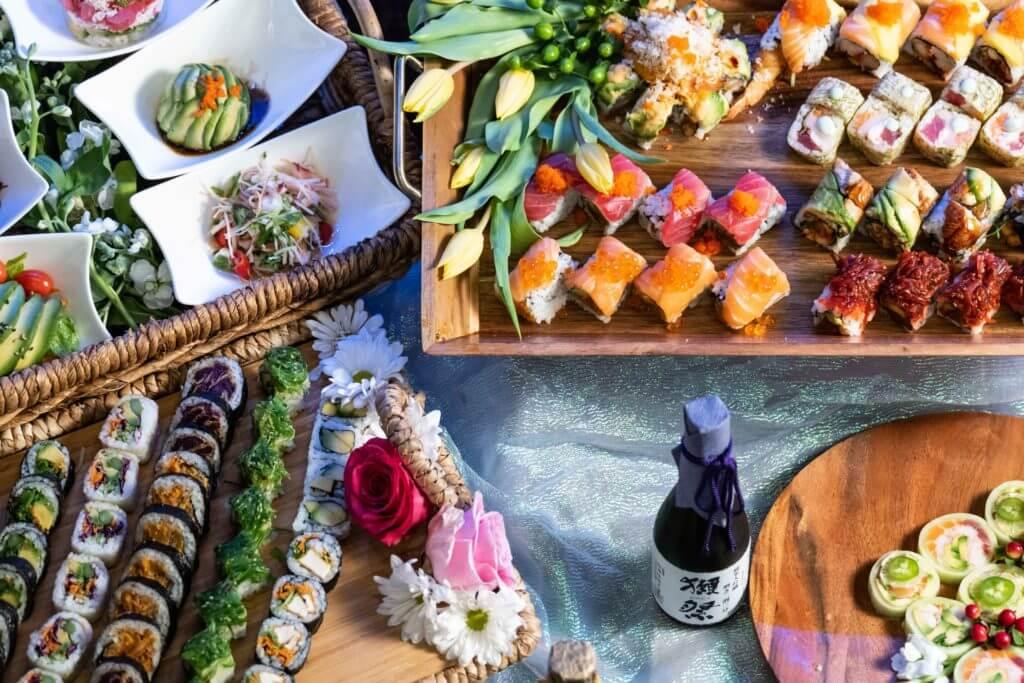 Sushi at Tsunami Sushi Sarasota