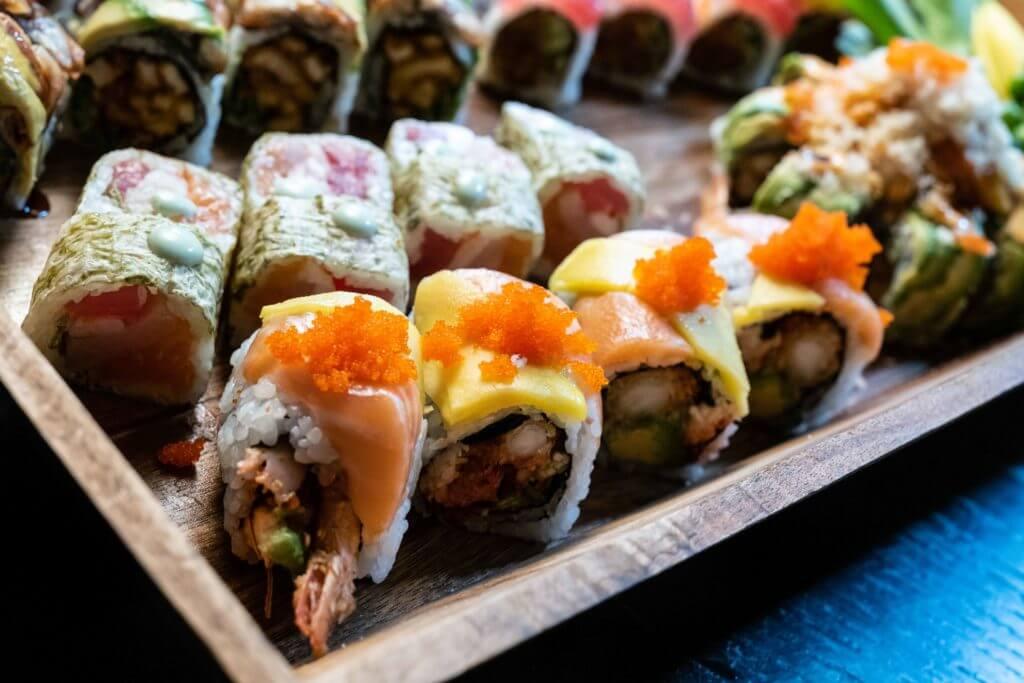 Sushi Rolls from Tsunami Sushi in Sarasota, FL